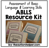 ABLLS Resource Kit