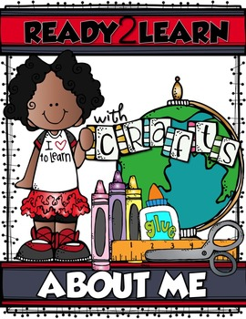 ABOUT ME CRAFTS {Ready2Learn Self-Discovery Printables}
