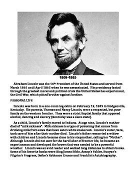 ABRAHAM LINCOLN UNIT (GRADES 4-8)