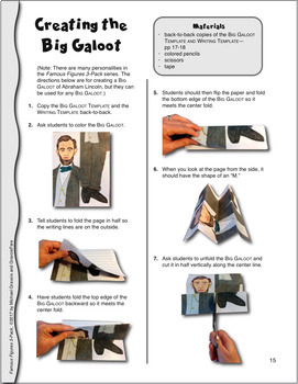 ABRAHAM LINCOLN ACTIVITIES: 3 Hands-On Projects and Foldable Craftivities