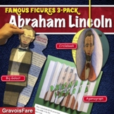 ABRAHAM LINCOLN BIOGRAPHY ACTIVITIES: 3 Hands-On Projects