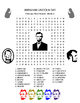 ABRAHAM LINCOLN'S Birthday Word Search - US History - Earl