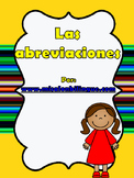 ABREVIATURAS EN ESPANOL - ABBREVIATIONS IN SPANISH