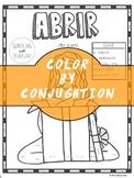 Spanish Verb Conjugation Worksheet   ABRIR
