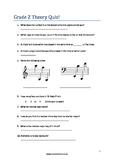 ABRSM Grade 2 Theory Quiz