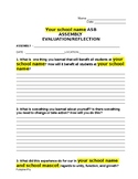 ABS/Student Council Assembly Evaluation Form
