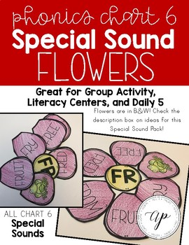 ABeka Phonics Chart 6 - SPECIAL SOUND FLOWERS