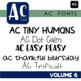 AC Fonts Volume 6