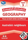 Australian Curriculum Geography - Australia's neighbours – Year 3