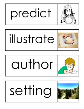 ACADEMIC VOCABULARY Word Cards for the Primary Classroom