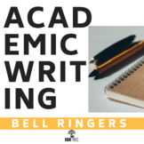 ACADEMIC WRITING BELL RINGERS - FORMAL VOCABULARY & TRANSITIONS