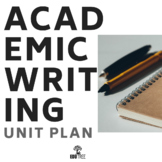 ACADEMIC WRITING UNIT - FORMAL VOCABULARY & TRANSITIONS