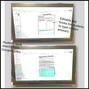 ACADEMIC WRITING UNIT FORMAL VOCABULARY & TRANSITIONS - DIGITAL GOOGLE RESOURCE