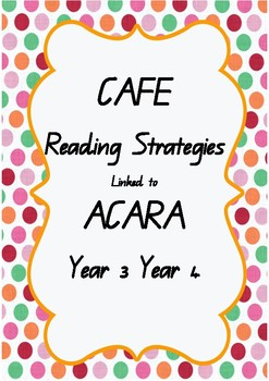 ACARA C2C linked to CAFE READING Program