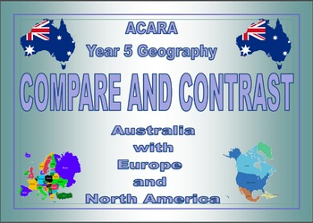 ACARA Geography YR 5 Compare and Contrast