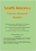 ACARA Geography Yr 4 South America - Internet Research Booklet
