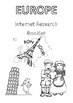 ACARA Geography Yr 5 Europe - Internet Research Booklet