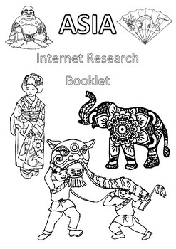 ACARA Geography Yr 6 Asia - Internet Research Booklet