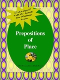 NAPLAN: Year 3 Grammar: Prepositions of Place
