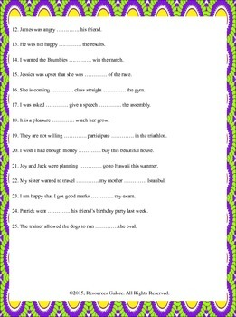 NAPLAN: Year 3 Prepositions Revision 1