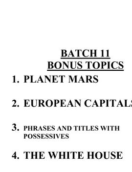 ACB Practice Questions - Batch 11