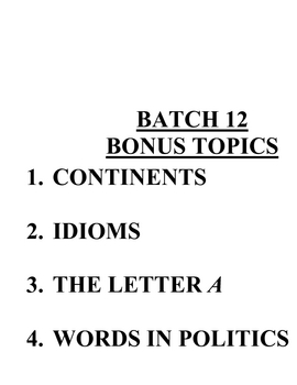 ACB Practice Questions - Batch 12