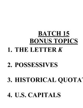 ACB Practice Questions - Batch 15