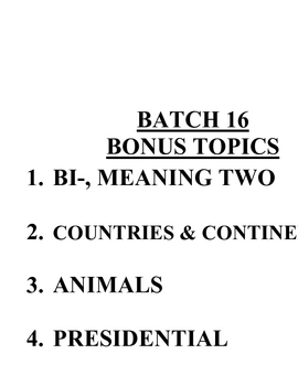 ACB Practice Questions - Batch 16