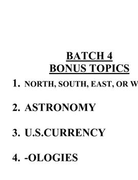 ACB Practice Questions - Batch 4
