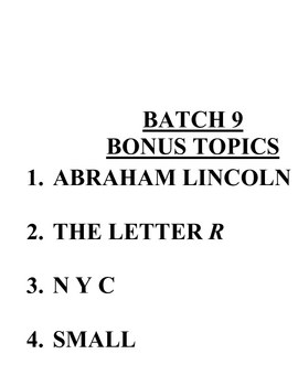ACB Practice Questions - Batch 9