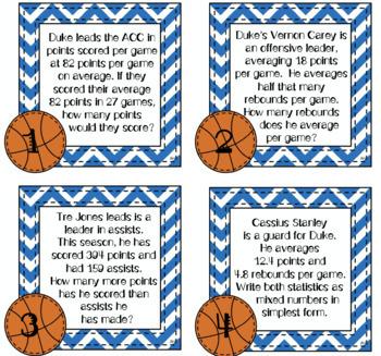ACC Math Task Cards