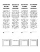 ACCELERATED READING LOG & BOOKMARKS