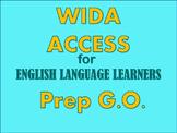 ACCESS Test Practice Item Graphic Organizer