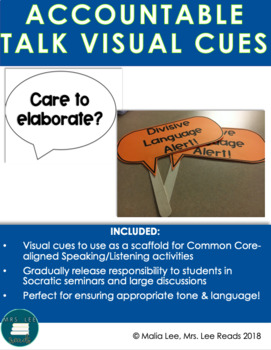 Accountable Talk Discussion Stems: Expansion!