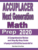 ACCUPLACER Next Generation Math Prep 2020: A Comprehensive Review