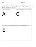 ACE:  Adding and Subtracting Factions Word Problem