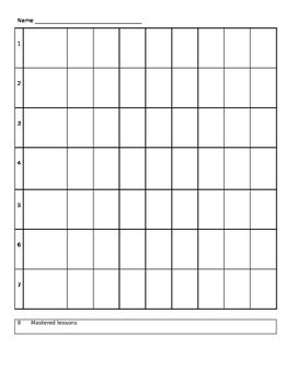 ACE Binder Sheet