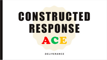ACE: Constructed Response (James Dickey's Deliverance)