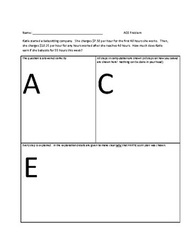 ACE: Multiplying Decimals Word Problems