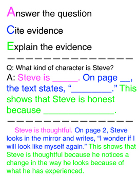 ACE Poster - Answer, Cite, Explain
