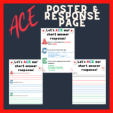 ACE Poster and Student Response Sheet