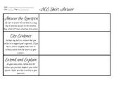 ACE Short Answer Response Worksheet