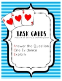 Citing Text Evidence ACE Strategy Task Cards