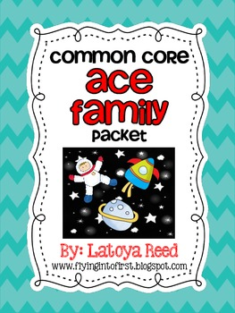 ACE Word Family Packet Long Vowels
