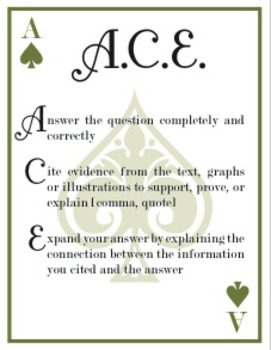 ACE Writing Prompt Strategy