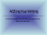 ACE Writing Strategy