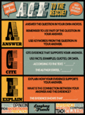 ACE Writing Strategy Anchor Chart Poster [Physical Copy]