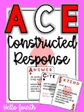 ACE reading constructed response
