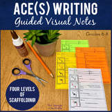 ACE Expository Writing Strategy Pixanotes™ - great for SPED/ELL!