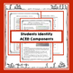 Constructed Response ACED Interactive Notebook Resource